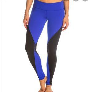 Alo Yoga electric blue leggings